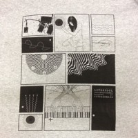 Image of Liverpool International Festival Of Psychedelia - 2013 T-Shirt - Grey