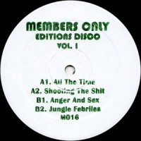 Members Only - Editions Disco Vol.1