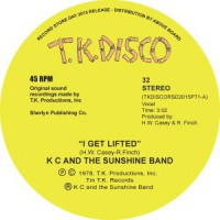 Image of KC And The Sunshine Band - I Get Lifted - Inc. Todd Terje Edit