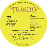 Image of KC And The Sunshine Band - I'm Your Boogie Man - Inc. Todd Terje Edit