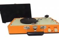 Image of Steepletone - SRP030S Record Player - Red