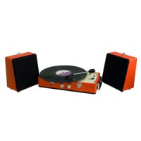 Image of Steepletone - SRP030S Record Player - Orange