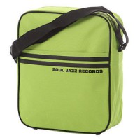 "Image of Soul Jazz Records - 12"" Record Bag (Sage Green & Black)"