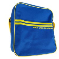 "Image of Soul Jazz Records - 12"" Record Bag (Royal Blue & Yellow)"