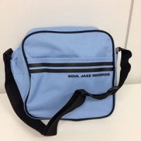 "Image of Soul Jazz Records - 7"" Record Bag (Powder Blue & Black)"