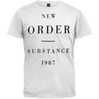 Image of New Order - Substance - White T-Shirt
