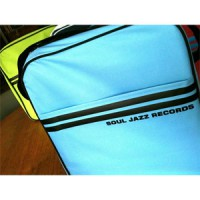 "Image of Soul Jazz Records - 12"" Record Bag (Powder Blue & Black)"