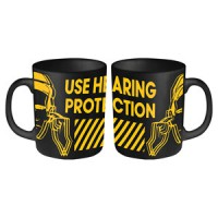 Image of Factory Records - Use Hearing Protection Logo - Mug