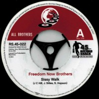 Image of Freedom Now Brothers / RDM Band - Sissy Walk / Butter Your Popcorn (Acetate  Version)