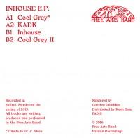 Image of Free Arts Band - Inhouse E.P.