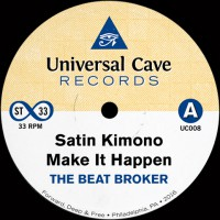 The Beat Broker - Satin Kimono