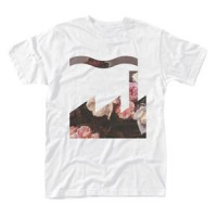 Image of Factory Records / New Order - Power, Corruption & Lies T-shirt (White)