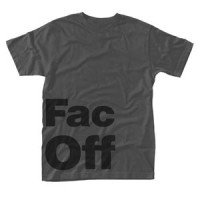 Image of Factory Records - Fac Off T-shirt (Grey)