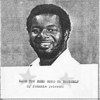 Image of Johnnie Frierson - Have You Been Good To Yourself