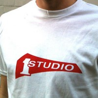 Image of Studio One - T-shirt - White / Red Print