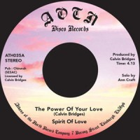 Spirit Of Love - The Power Of Your Love / He's Alright