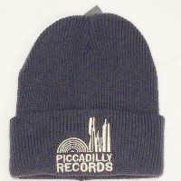 Image of Piccadilly Records - Slate Grey Beenie