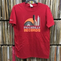 Image of Piccadilly Records - Original Logo T-Shirt - Red