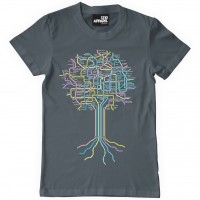 Image of 1210 Apparel - Clubbing Roots T-shirt - Charcoal