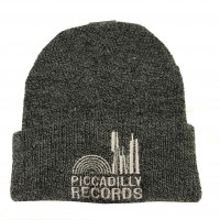 Image of Piccadilly Records - Dark Grey Marl Beenie