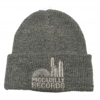 Image of Piccadilly Records - Light Grey Marl Beenie