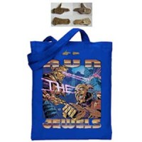 Image of Run The Jewels - Record Tote Bag And Gold Pin Set