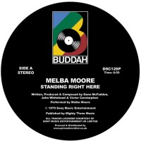 Image of Melba Moore - Standing Right Here / Make Me Believe In You