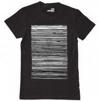 Image of Vinyl Junkie - T-shirt Black