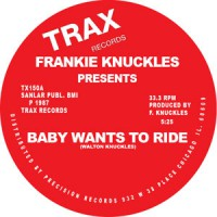 Image of Frankie Knuckles - Baby Wants To Ride / Your Love - Red Vinyl Repress