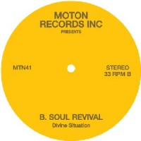 Image of Moton Records Inc Presents - Divine Situation