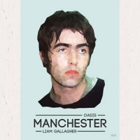 Image of Musicians Of Manchester - Series 1 - Liam Gallagher Card
