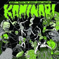 Image of Various Artists - Kaminari Volume 2 - 19 More Japanese Garage Punk Monsters