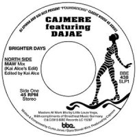 Image of Cajmere - Brighter Days (Masters At Work Mix / Underground Goodies Mix