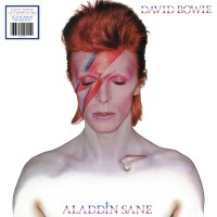 Image of David Bowie - Aladdin Sane - 45th Anniversary Limited Edition Silver Vinyl