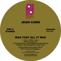 Image of Jean Carn - Was That All It Was / Don't Let It Go To Your Head