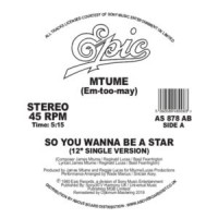 Image of Mtume - So You Wanna Be A Star - Inc. Danny Krivit Edit
