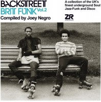 Image of Various Artists - Backstreet Brit Funk Vol.2 Compiled By Joey Negro