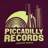 Image of Piccadilly Records - Logo T-Shirt - Summer 19: Burgundy / Vanilla