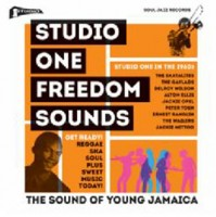 Image of Various Artists - Soul Jazz Records Presents - Studio One Freedom Sounds: Studio One In The 1960s