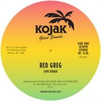Image of Red Greg - Love Break / Burning