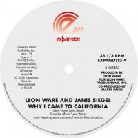 Leon Ware - Why I Came To California / Can I Touch You There