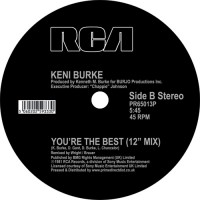 Image of Keni Burke - Risin' To The Top / You're The Best
