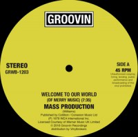 Image of Mass Production - Welcome To Our World