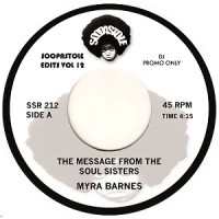Image of Myra Barnes / Barbara Gwen - The Message From The Soul Sisters / Right On