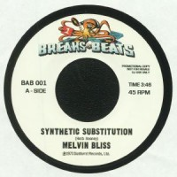 Image of Melvin Bliss / Sweet Daddy Floyd - Synthetic Substitution / I Just Can't Help Myself