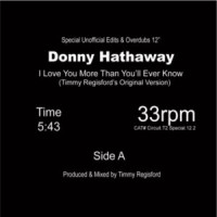 Image of Donny Hathaway - I Love You More Than You'll Ever Know (Timmy Regisford & Joaquin Joe Claussell Unofficial Edits & Overdubs)