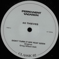 Image of 40 Thieves - Permanent Vacation Classic Vol.2
