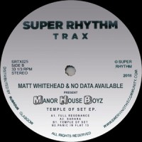 Image of Matt Whitehead & No Data Available Present Manor House Boys - Temple Of Set EP