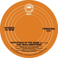 Image of The Isley Brothers - Footsteps In The Dark, Pts. 1 & 2 / Between The Sheets