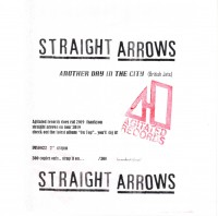 Image of The Straight Arrows - Another Day In The City